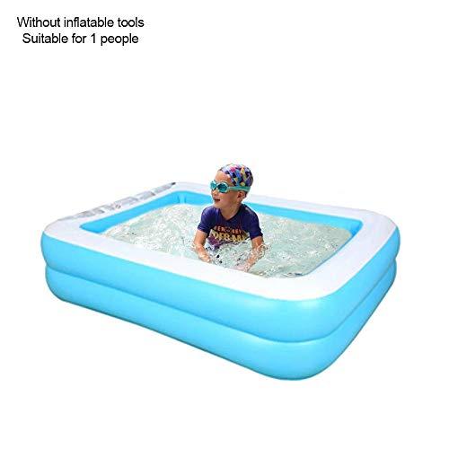 Cuttey Planschbecken Familienpool Aufblasbares Kinder-Planschbecken Aufblasbares Kinderschwimmbad Haushalt Baby Verschleißfester Dick Marine Ball Pool