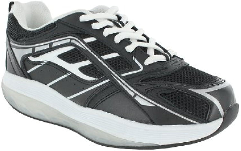 ExerSteps Women's Selection Black Sneakers