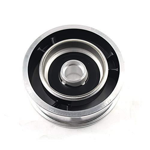 Neumáticos de amortiguación para scooters eléctricos 2PCS 10 pulgadas Scooter eléctrico Freno de disco Llanta de rueda para 10x2 10x2.125 10x2.25 10x2.50 Tubo de neumático de coche de equilibrio de bu
