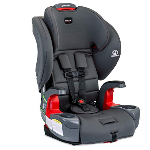 Britax Grow with You Harness-2-Booster Car Seat, Pebble