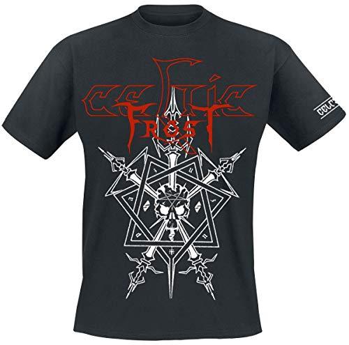 Celtic Frost Morbid Tales Männer T-Shirt schwarz L 100% Baumwolle Band-Merch, Bands