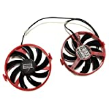 XFX RX 460 GPU VGA Cooler FY09010H12LPB Cooling Fan For XFX R9 380X R7 370 XFX RX460 Grahics Card As Replacement Descript