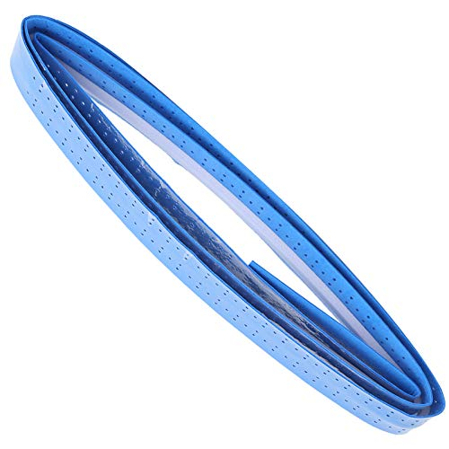 Sobregrip de Raqueta de bádminton, sobregrip de Tenis Multiusos Transpirable para Raqueta de bádminton para Raqueta de Tenis para Mango de Bicicleta para Mango de caña de Pescar(Blue)