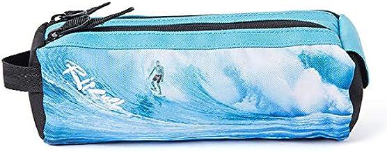 Rip Curl Glow Wave - Estuche para lápices, color azul: Amazon.es: Oficina y papelería