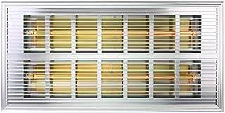 JGWJJ 500W montado en la Pared Panel Calefactor con LCD de 24 Horas Temporizador IP24 baño Caja Fuerte