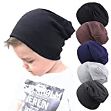 Guozyun Baby Hat Baby Boy's Beanie Hats Cotton Skull Caps for Baby Toddlers Kids Little Boys 6-60 Months (6-60 Months, 5 - Color-B)
