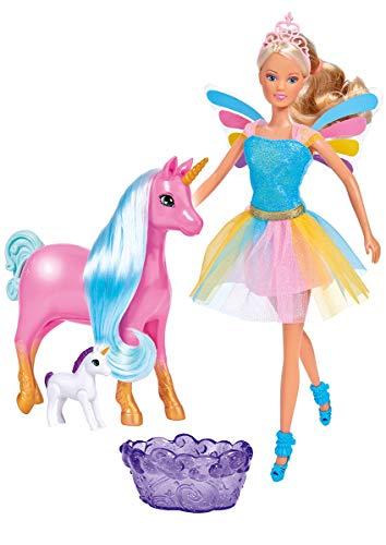 Simba 105733313 Steffi Love Welcome Unicorn - Muñeco de peluche , color/modelo surtido
