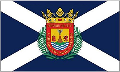 U24 Flagge Fahne Teneriffa 90 x 150 cm