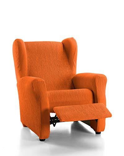 Martina Home Emilia Funda Sillón Relax, Tela, Naranja, 33x8x42 cm