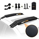 HEYTRIP Universal Soft Roof Rack Pads for Kayak/Surfboard/SUP/Canoe with 15FT Tie-Down Straps and Storage Bag
