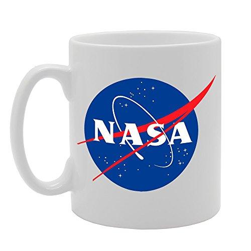 MG673 Tasse mit NASA-Logo, bedruckt, für Tee und Kaffee