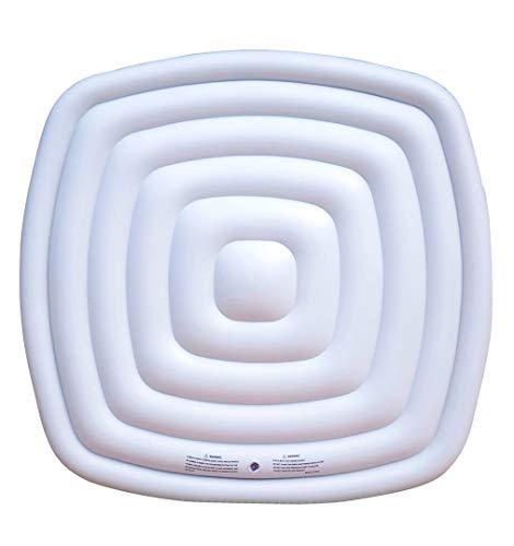 Miweba MSpa aufblasbare Abdeckung B0302010N für Whirlpools - Quadratisch - Universal (Quadratisch 165x165 cm)