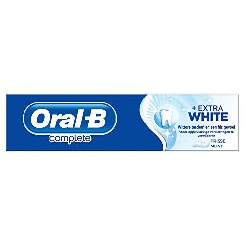 Oral-B Complete – Extra White Tandpasta – 75 ml