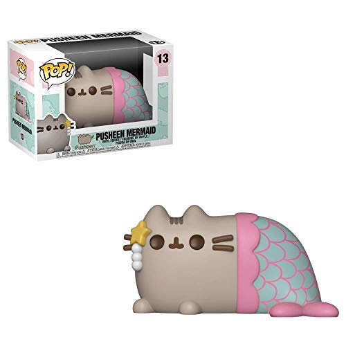 Funko Pop Pusheen Mermaid, Multicolor, Talla Única (FK34105)