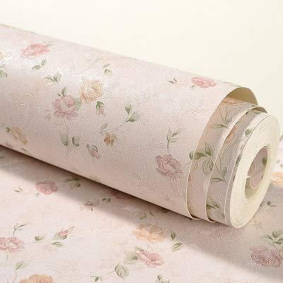 jidan Einfach zu dekorieren, beliebte langlebige Tapete, 100 x 53 cm, Blumendruck, Vliestapete, zum Basteln, Schlafzimmer, Wohnzimmer, Wandhintergrund, Dekor (Farbe: 2)