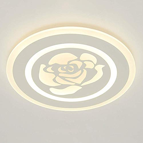 Lámpara de Techo, Luces de Techo Lámpara de Techo LED de Moda Dormitorio Moderno Lámpara de Sala de Estar con Personalidad Simple Restaurante Lámparas Creativas [Clase energética A ++]