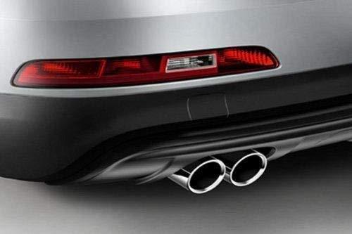 Audi Original Q3 8U Sport Endrohrblenden Auspuffblende Endrohr