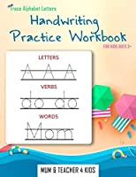Trace Alphabet Letters: Handwriting Practice Workbook For Kids Ages 3+