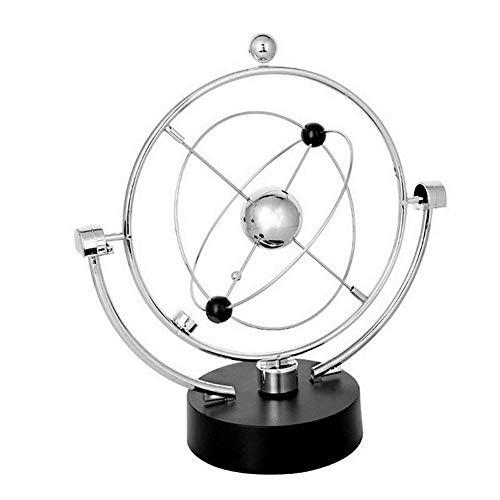 Blentude Globus Modell Rotation Perpetual Motion Instrument Magnetische Orbit-Ornament Dekoration A603