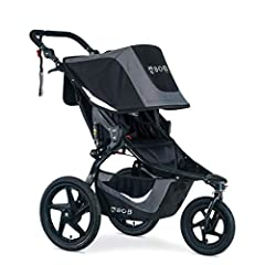 Smooth ride: Suspension system & air filled tires provide an ultra-smooth ride over any terrain Perfect fit: Adjustable handlebar creates the perfect fit for parents of all heights; No-rethread harness design for easy height adjustments Extra space: ...