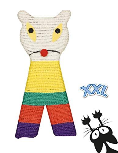 Tyrol Griffoir XXL Chat Plat Multicolore 38X18Cm 1 Unité
