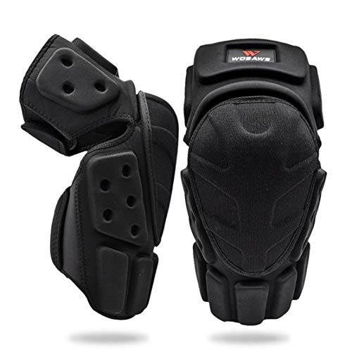 AKT Rodilleras de Moto Protección de Rodilla de Esquí Rodillera Cojín de Espuma Eva para Motocross Bicicleta Patineta