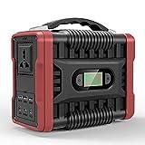QCLU Generador de la Central eléctrica portátil 222WH / 60000mAH, batería de Respaldo de Litio con DC/AC / 4 USB Puertos/DIRIGIÓ luz DIRIGIÓ Pantalla para al Aire Libre Picnic Pesca Pieza de Viaje