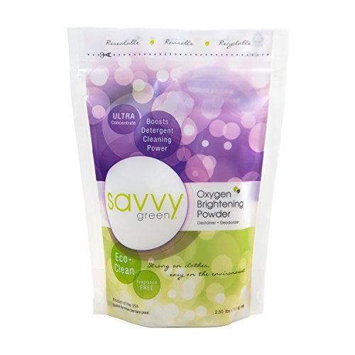 Product Image of the Savvy Green Oxygen Brightening Powder, 2.5 Lbs