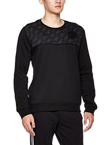 adidas Herren Manchester United Sweatshirt, Schwarz, XL
