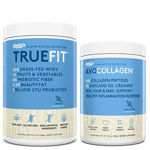 TrueFit Protein Powder (Vanilla 2 L…