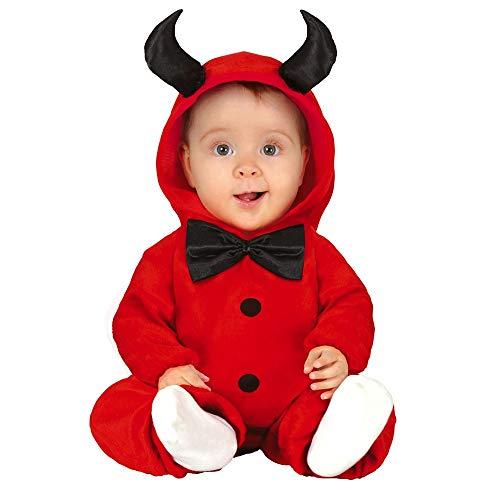 Fiestas Guirca Costume Pigiama Diavolo diavoletto Neonato per Travestimento Halloween