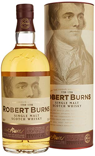 Arran The Robert Burns Single Malt mit Geschenkverpackung  Whisky (1 x 0.7 l)
