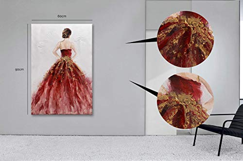 Casarreda Store Dipinto Donna in Rilievo Realizzato a Mano 60x90 - BUBOLA E NAIBO