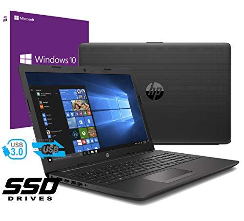 "Notebook HP 255 G6 Portatile Pc Led da 15.6"" Cpu Amd 2.00GHz / Ram 8Gb DDR4 / SSD da 240GB / VGA Radeon R2 / Hdmi / Masterizzatore / Wifi / Bluetooth / Windows 10 professional + office open surce"