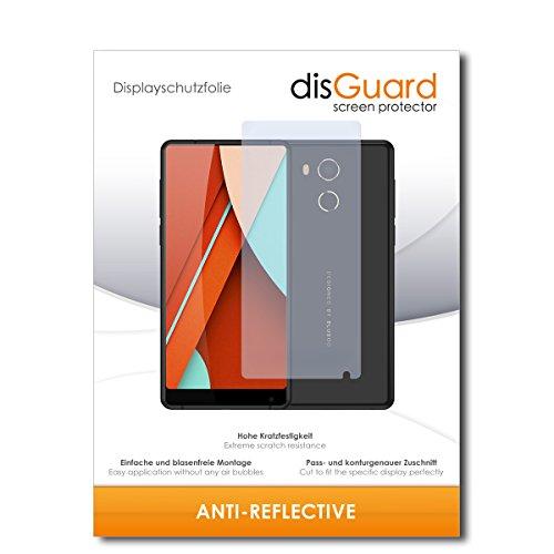 disGuard® Bildschirmschutzfolie [Anti-Reflex] kompatibel mit Bluboo D5 Pro [2 Stück] Entspiegelnd, Matt, Antireflektierend, Extrem Kratzfest, Anti-Fingerabdruck - Panzerglas Folie, Schutzfolie