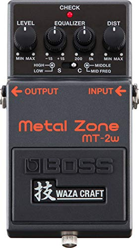 BOSS/MT-2W Metal Zone MADE IN JAPAN 技 Waza Craft 日本製