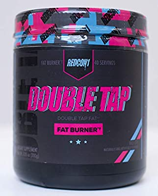 REDCON1 - Double Tap - Fat Burner - Muscle-Preserving Fat Burner, Thermogenic Weight Loss Supplement – Keto Friendly, Appetite Suppressant - for Men and Women - 40 Servings (Vice City)