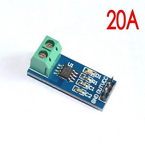 Leyal 10PCS 20A Hall Current Sensor Module ACS712 Model 20A Deal in All Kind of electrocnic Components