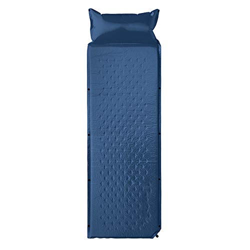 jzhi Inflatable cushion Sleeping Camping Mat Mattress Self-inflating Pad Portable Bed With Pillow Camping Tent Mats