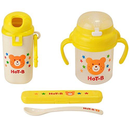 ミキハウス ホットビスケッツ(MIKIHOUSE HOT BISCUITS) 【箱付】 食洗機OK・おでかけマグセット 黄