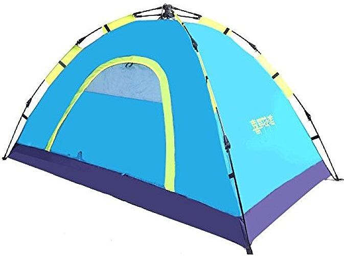 Tente Plein air Plein air Couple Couple Voyage 3-4 personnes Plage Ombre Terrain de pluie équipement de camping Tentes