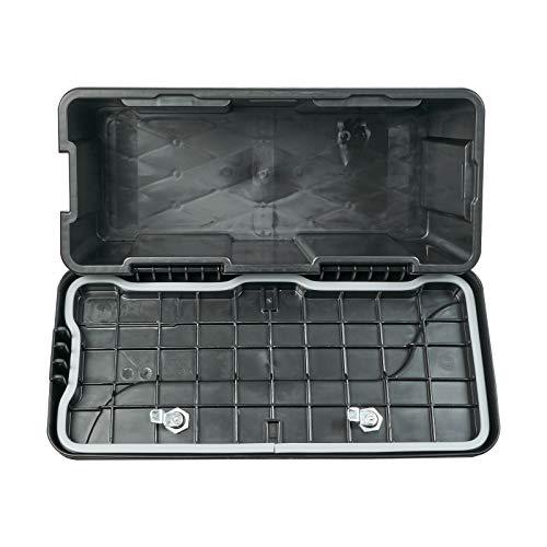DAKEN Deichselbox Blackit 2-550x250x295mm Anhängerbox Werkzeugkasten Anhänger Staukiste Werkzeugkiste Box 23L - 6