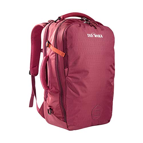 Tatonka Flightcase Handgepäck-Rucksack - 54x33x18 cm - 40 Liter - Kofferrucksack mit verstaubaren Trägern und Laptopfach - für Frauen und Männer - Bordeaux-red