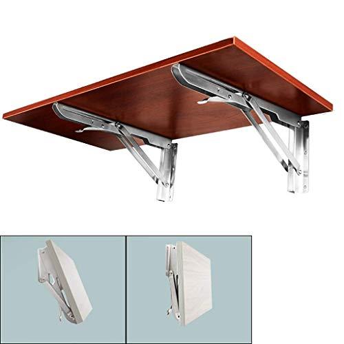 Aan de muur bevestigde vloer table Klaptafel Massief houten muur gemonteerde, keuken console bureau werktafel is waterdicht, gemakkelijk te reinigen en draagbaar, kan binnen opgehangen en buiten lapto