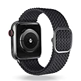 Best High End Apple Watch Bands - VEESIMI Braided Solo Loop Watch Straps,Compatible with Apple Review