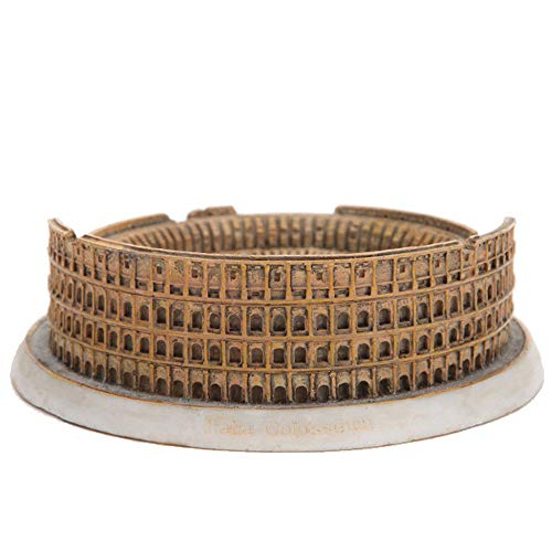 WY-BUILD Statues/Sculptures, Architectural House Model Ornaments, Rome Colosseum Sculpture, Decorative Collectibles, Sculptures,for Living Room, Bedroom, Office,(13 X 13 X 4 cm)