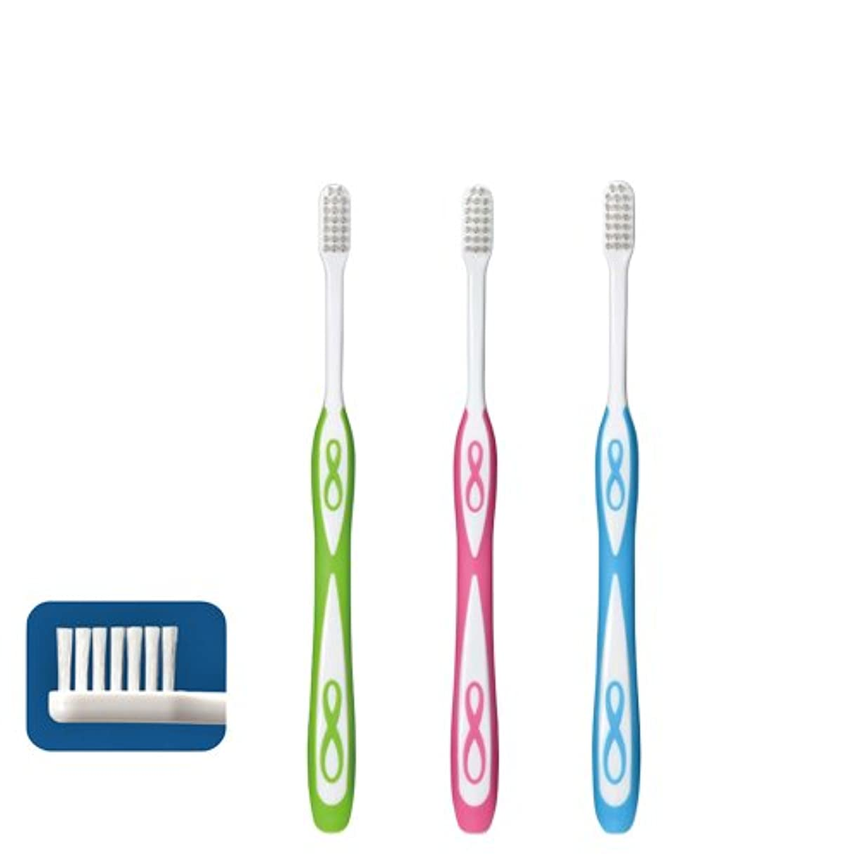 怪しい重要性重なるLover8 ラバーエイト ラウンド毛歯ブラシ × 1本 M(ふつう)Ciメディカル 【歯科専売品】