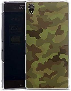 Hardcase compatibel met Sony Xperia Z3 Hoesje Doorzichtig Telefoonhoesje Camouflage Camouflage motief Men Style