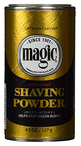 Magic Fragrant Shaving Powder Gold 4.5 Ounce (127g) (2 Pack)