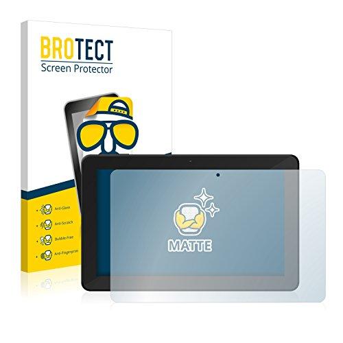BROTECT 2X Entspiegelungs-Schutzfolie kompatibel mit TrekStor SurfTab xintron i 10.1 3G Bildschirmschutz-Folie Matt, Anti-Reflex, Anti-Fingerprint